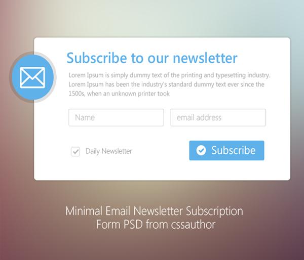 Σχεδιασμός μακέτας newsletter